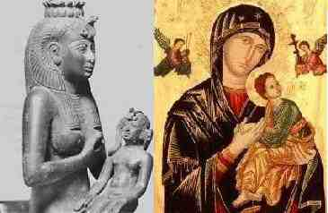Isis and Mary