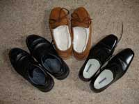 Liturgical prayer and new shoes