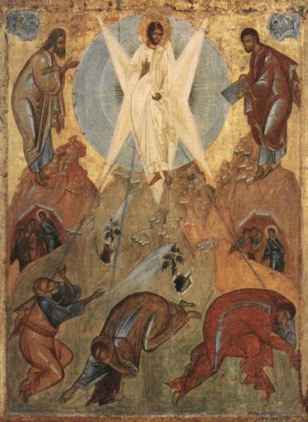 Reflect on Transfiguration Sunday (Sunday before Lent)