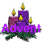 Advent blog & site badge