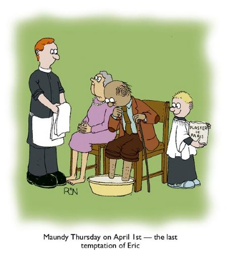 Maundy Thursday on April 1st