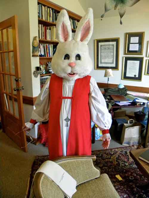 the Easter Bunny is Anglican