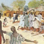 Jesus and the lepers