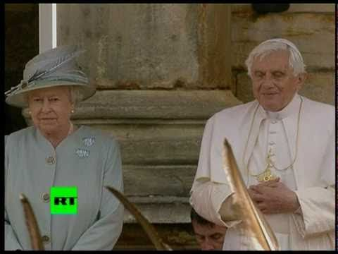 Pope Benedict XVI visits the UK