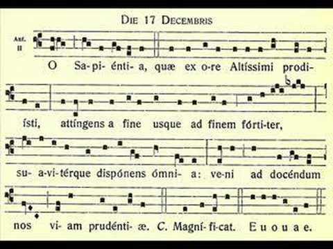 O Sapientia – O Wisdom – 17 December