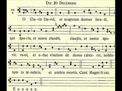 O Clavis David – O Key of David – December 20