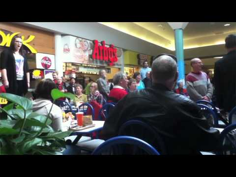 Hallelujah Chorus in Food Court