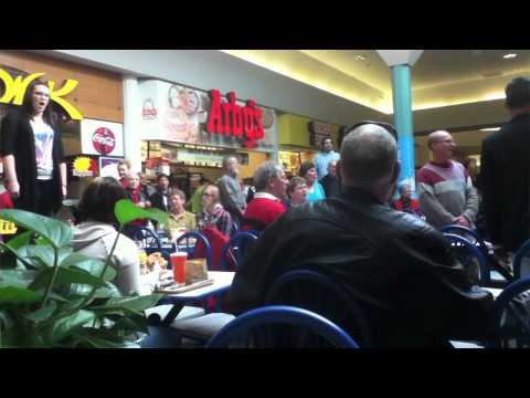 Hallelujah Chorus in Food Court