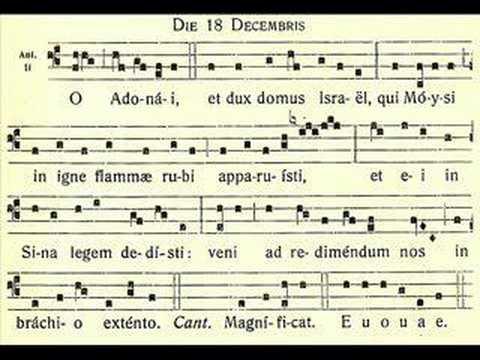 O Adonai – O Lord of might – December 18