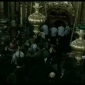 Monks and police, Golgotha and the Holy Sepulchre
