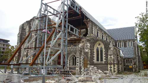 Christchurch cathedral to be demolished
