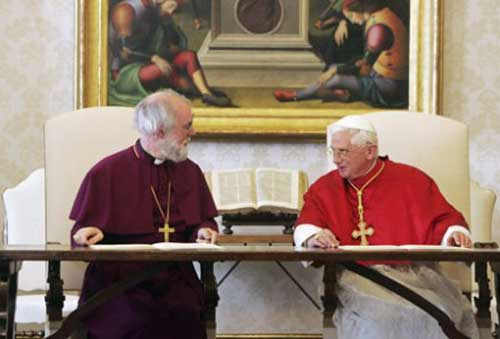 Pope & Archbishop of Canterbury recognise virtual sacraments