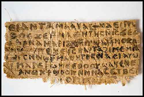 Gospel of Jesus' wife