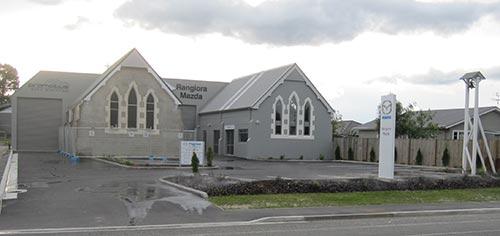 car-yard church?
