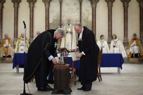 Electing Archbishop of Canterbury