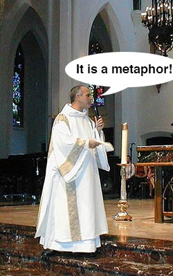 it is a metaphor!