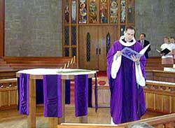 No flowers in Lent