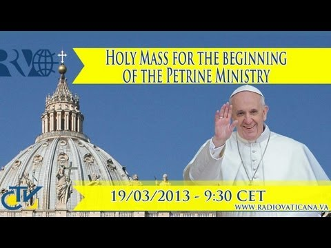 Pope Francis inauguration Mass