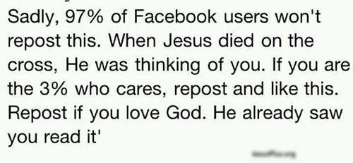 facebook Jesus
