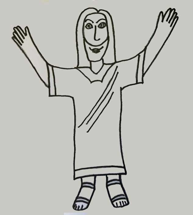 Flat Jesus