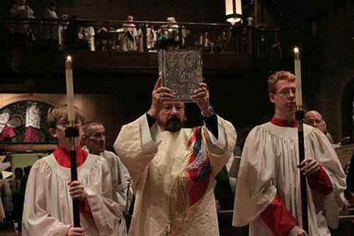 Gospel procession?