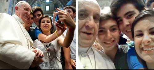 Pope Francis tops internet