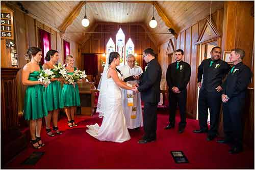 Anglican wedding