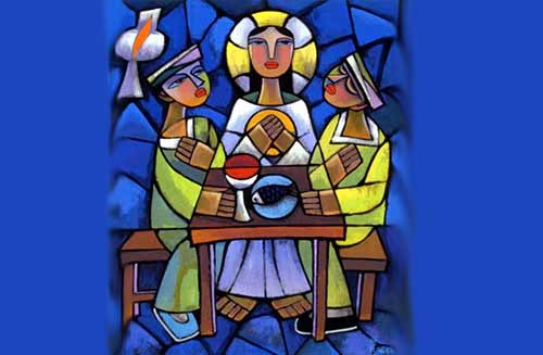 Supper at Emmaus (He Qi)
