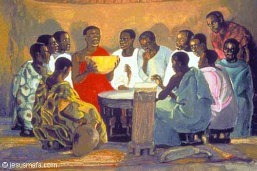 Jesus Mafa Last Supper