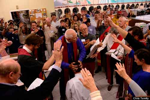 Ordination in laundry