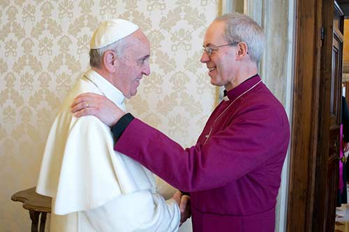 Archbishop Justin Pope Francis