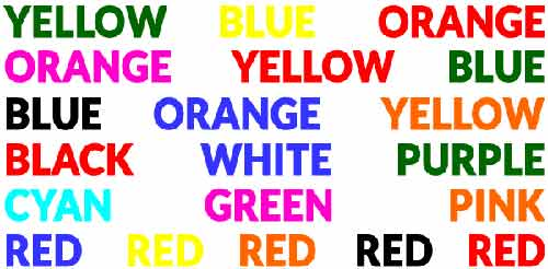 "stroop efect What exactly does stroop effect mean the term is based on the work of dr john ridley stroop that was published in his ground-breaking ""journal of experimental."