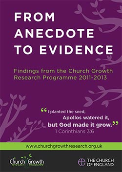 Grow the Church – From Anecdote To Evidence
