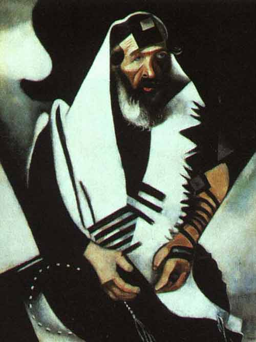 Chagall's Praying Jew