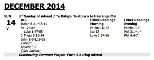 Advent 3 2014