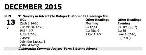 Advent 3 2015