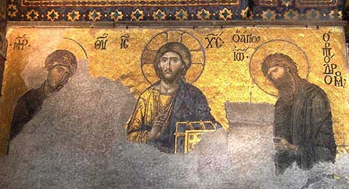 Christ Deesis Hagia Sophia
