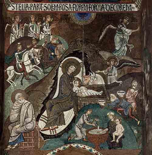 Palermo Christmas mosaic