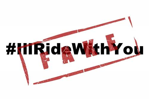 Is #illridewithyou true?