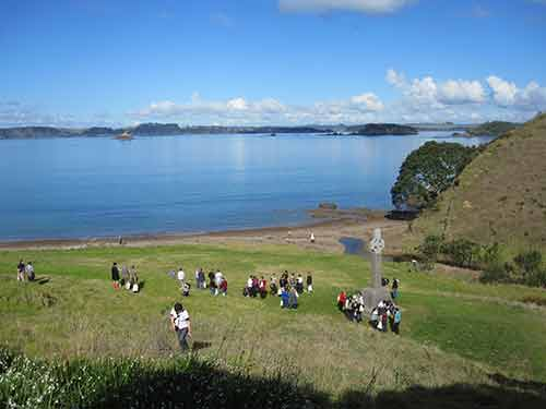 First Christian Service in New Zealand