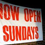 Sunday opening