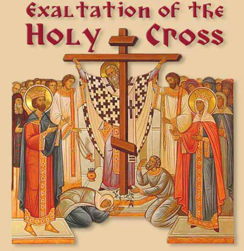 Holy Cross Day 14 September 2019