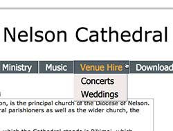 Nelson Cathedral website
