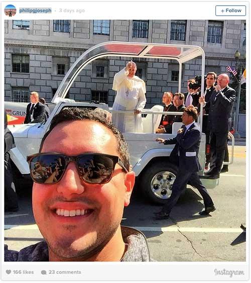 Pope Selfies