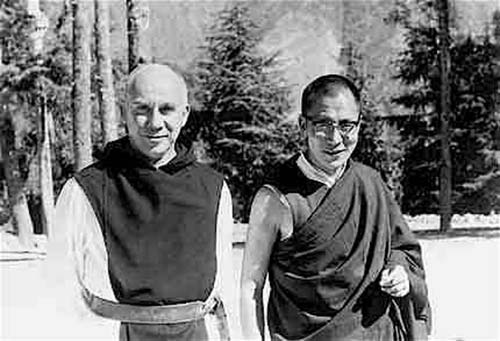 Thomas Merton and the Dalai Lama 1968