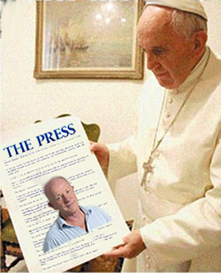 Pope Francis & Joe Bennett Article
