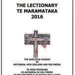 New Zealand Lectionary 2016