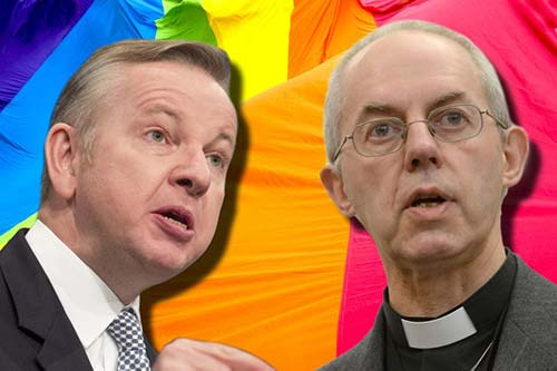 Michael Gove Justin Welby