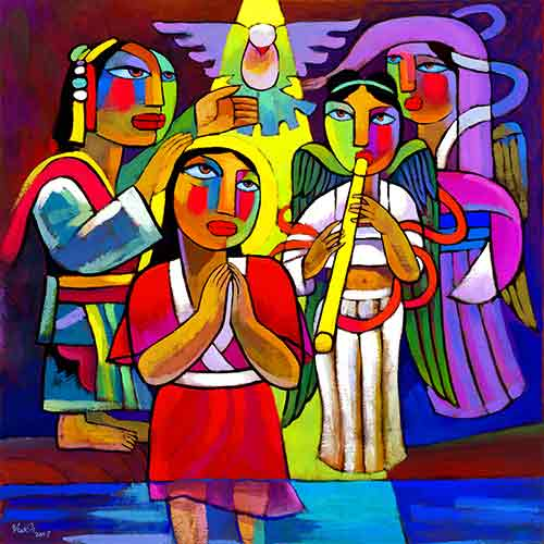 He Qi Baptism of Jesus