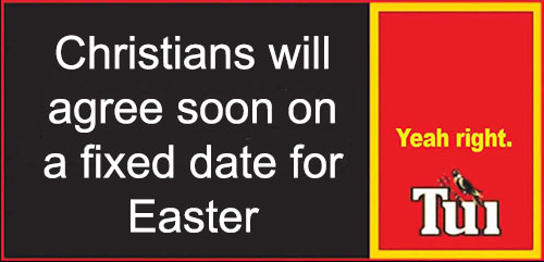 A Fixed Date For Easter?
